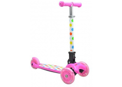 Kiddimoto U-Zoom Pastel Dotty