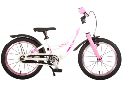 Volare Glamour Kinderfiets - Meisjes - 16 inch - Parelmoer Roze - Prime Collection