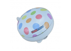 Fietsbel Kiddimoto Large Pastel Dotty