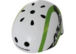 Kawasaki helm Freestyle 56/58 wit/groen