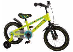 Volare Electric Green 14 inch jongensfiets